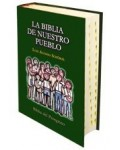 La Biblia de nuestro pueblo. Con índice de uñero