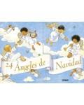 Calendario de Adviento. 24 ángeles de Navidad