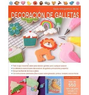 Guía fotográfica de la decoración de galletas