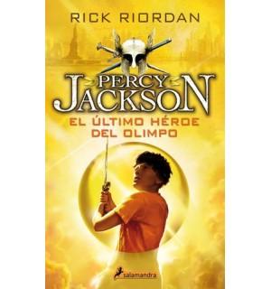 Percy Jackson y los dioses del Olimpo. Rústica. Col. de 5 títulos