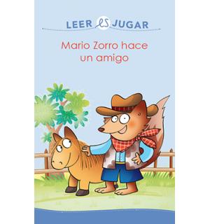 Mario Zorro hace un amigo