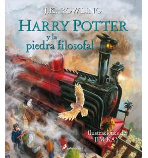 Harry Potter y la piedra filosofal. Edición ilustrada