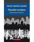 Filosofía mundana. Microensayos completos (nueva edición ampliada)