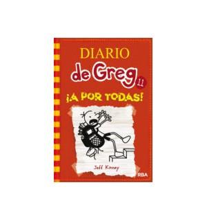 Diario de Greg. Colección de 11 títulos